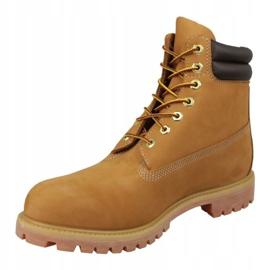 Timberland 6 tuuman Boot M 73540 talvikengät keltainen 1