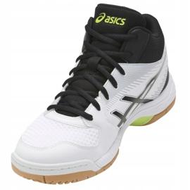 Asics Gel-Task Mt M B703Y-0190 kengät valkoinen valkoinen, musta 4