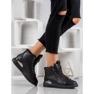 SHELOVET Nauhoilla varustetut kengät musta 5