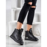 SHELOVET Nauhoilla varustetut kengät musta 1