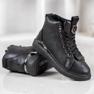SHELOVET Nauhoilla varustetut kengät musta 4