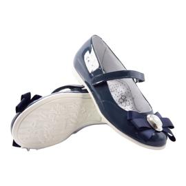 Ballerinas lasten kengät Bartek 45418 tummansininen 3