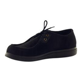 Befado naisten kengät pu 871D004 musta 4