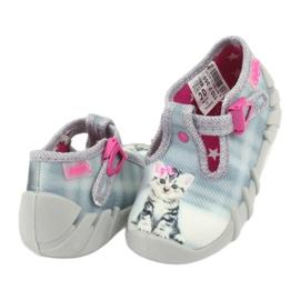 Befado kitty lasten kengät 110P365 harmaa 3