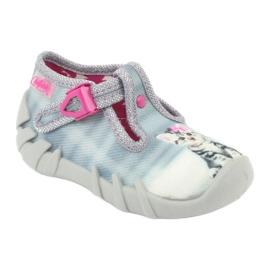 Befado kitty lasten kengät 110P365 harmaa 1