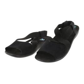 Mukavat mustat naisten sandaalit Adanex 17498 1