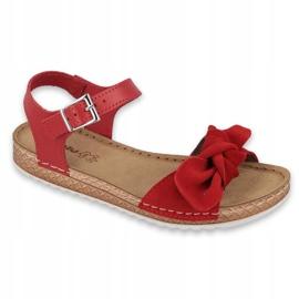 Comfort Inblu naisten kengät 158D117 punainen 1