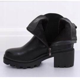 Musta Jodhpur-saappaat musta HE107 musta 5