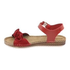 Comfort Inblu naisten kengät 158D117 punainen 2