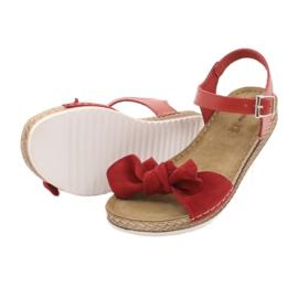 Comfort Inblu naisten kengät 158D117 punainen 4