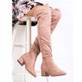 Fashion Jauhemusketterit pinkki 2