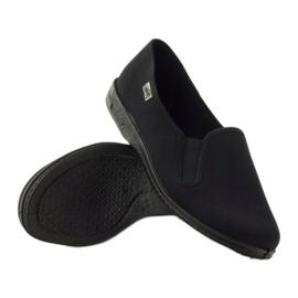 Musta slip-up-tossut Befado 001M060 3