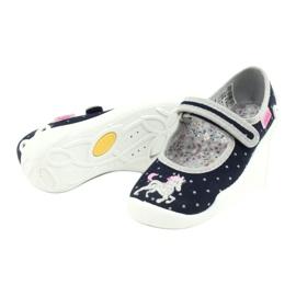 Befado lasten kengät 114X414 laivasto harmaa 4