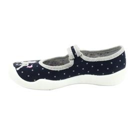 Befado lasten kengät 114X414 laivasto harmaa 2