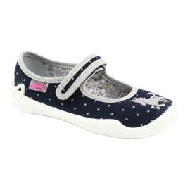 Befado lasten kengät 114X414 laivasto harmaa 1