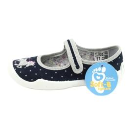 Befado lasten kengät 114X414 laivasto harmaa 6