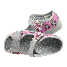 Befado lasten kengät 969X162 pinkki hopea 5
