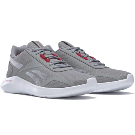 Reebok Energylux 2 miesten kengät harmaa-valkoinen-punainen Q46236 4