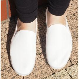 Lycra BL181-2 Valkoinen Slip-On Tennarit 1