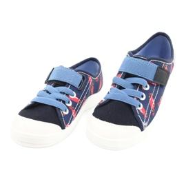 Befado lasten kengät 251X160 punainen laivasto sininen 3