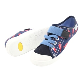 Befado lasten kengät 251X160 punainen laivasto sininen 4
