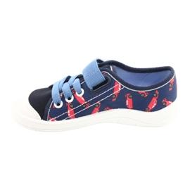 Befado lasten kengät 251X160 punainen laivasto sininen 2