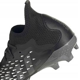 Adidas Predator Freak.1 Fg Junior FY1027 jalkapallokengät musta musta 8
