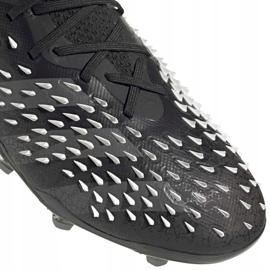 Adidas Predator Freak.1 Fg Junior FY1027 jalkapallokengät musta musta 7