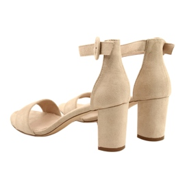 Sandaalit korossa Beige Evento 20SD98-1617 3