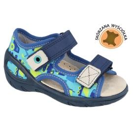 Befado lasten kengät pu 065X156 laivastonsininen sininen vihreä 1