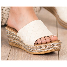 Bona Flip Flops beige 1