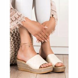 Bona Flip Flops beige 3