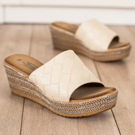 Bona Flip Flops beige 2