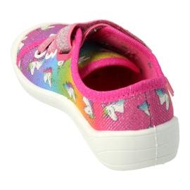Befado lasten kengät 251X178 Unicorn sininen oranssi vaaleanpunainen hopea vihreä 1