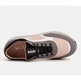 Marco Shoes Kevyet lenkkarit paksulla pohjalla luonnon nahasta harmaa 6
