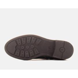 Marco Shoes Kevyet saappaat eristetty tasaisella pohjalla luonnon nahasta vihreä 6