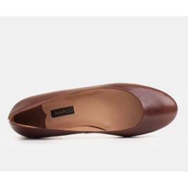 Marco Shoes Ballerinat ruskeasta nahasta, käsin kiillotetut 4