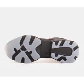 Marco Shoes Sporttiset naisten nupukkikengät, joissa on punaiset insertit musta 5