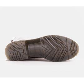 Marco Shoes Korkeat nilkkurit, läpikuultavaan pohjaan sidotut saappaat punainen 7