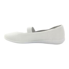 Naisten valkoiset lenkkarit Befado 493Q003 valkoiset valkoinen punainen monivärinen 2